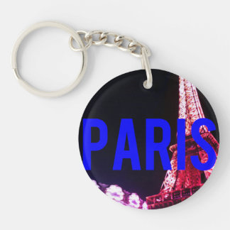 keychain Nacht Paris Schlüsselanhänger