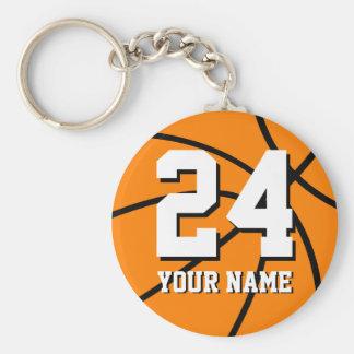 Keychains Basketball der Nr. 24 | Personalizable Schlüsselbänder