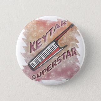 Keytar Superstar Runder Button 5,7 Cm