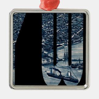 keywest1884 silbernes ornament