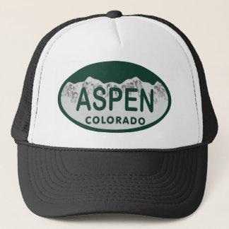 Kfz-Kennzeichen Aspen Colorado Truckerkappe