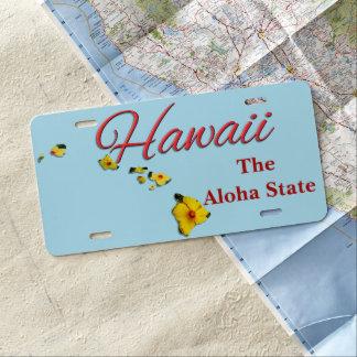 Kfz-Kennzeichen - HAWAII US Nummernschild