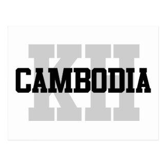 KH Kambodscha Postkarte