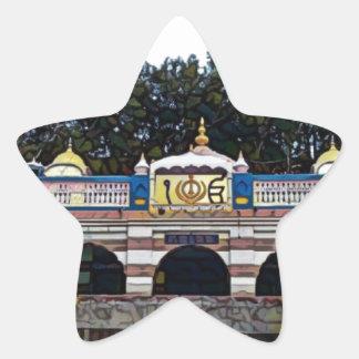 Khalsa Stern-Aufkleber