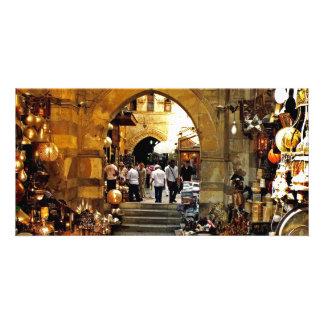 Khan Al-khalili Markt Bildkarten