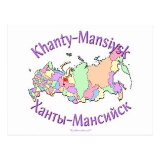 Khanty-Mansiysk Russland Postkarten