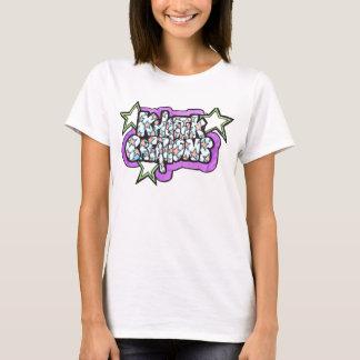 Khaotik Kreationens-Stern-Logo T-Shirt