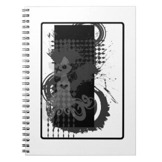 Khat Logo-Spritzer-Notizbuch Spiral Notizblock