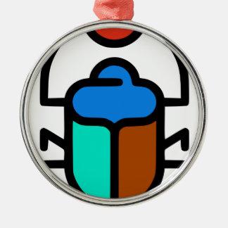 Khepri Silbernes Ornament