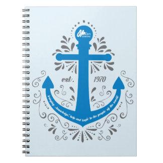 KHH Anker-Blau-Notizbuch Spiral Notizblock