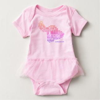 Ki Heu-Ballettröckchen Baby Strampler