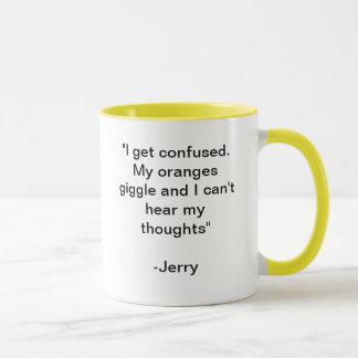 Kichernde Orangen Tasse