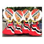 Kiddies Carnival, Trinidad and Tobago Post Card