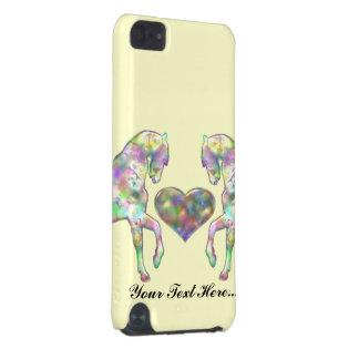 Kiddies Pferd und Liebe-Herz iPod Touch 5G Hülle