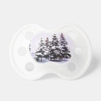 Kiefer 4 mit Schnee Schnuller