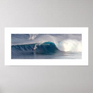 Kiefer ~ Maui-Brandung Poster
