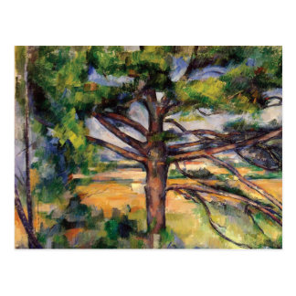 Kiefer nahe AIX durch Paul Cezanne Postkarte