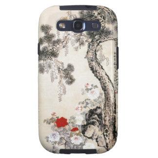 Kiefer-Stein und Glyzinien Samsung Galaxy S3 Hüllen