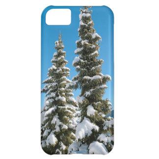 Kiefer unter dem Schnee iPhone 5C Hülle