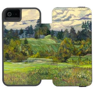 Kiefern Incipio Watson™ iPhone 5 Geldbörsen Hülle