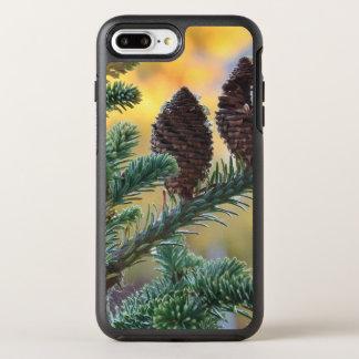 Kiefern-Kegel-Waldnatur-Szene OtterBox Symmetry iPhone 8 Plus/7 Plus Hülle