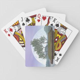 Kiefernbonsais - 3D übertragen Spielkarten