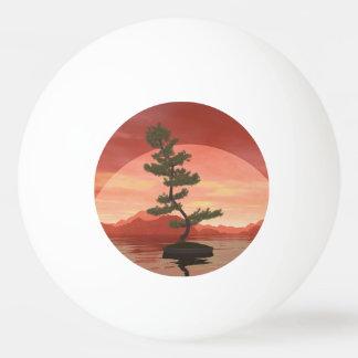 Kiefernbonsais - 3D übertragen Tischtennis Ball