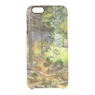 Kiefernwald Durchsichtige iPhone 6/6S Hülle