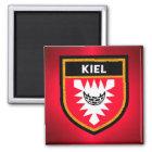 Kiel-Flagge Quadratischer Magnet