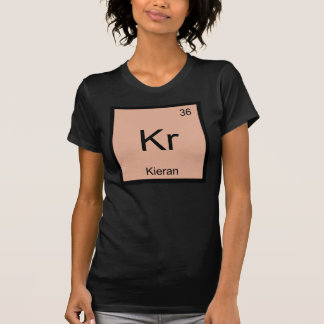 Kierannamenschemie-Element-Periodensystem T-Shirt