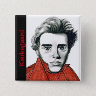 Kierkegaard Knopf Quadratischer Button 5,1 Cm