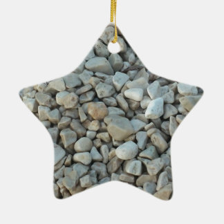 Kiesel auf Strand-Stein-Fotografie Keramik Ornament