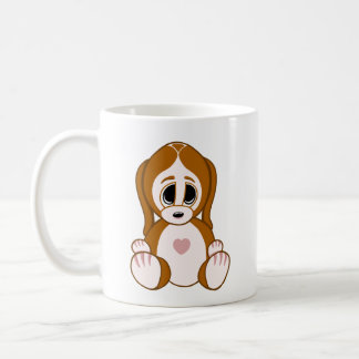 Kiesel der Welpe Kaffeetasse