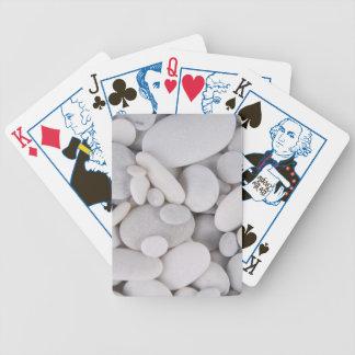 Kiesel, Felsen, Hintergrund Bicycle Spielkarten
