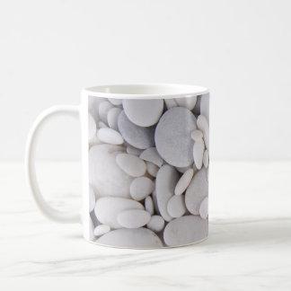 Kiesel, Felsen, Hintergrund Kaffeetasse