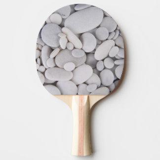 Kiesel, Felsen, Hintergrund Tischtennis Schläger
