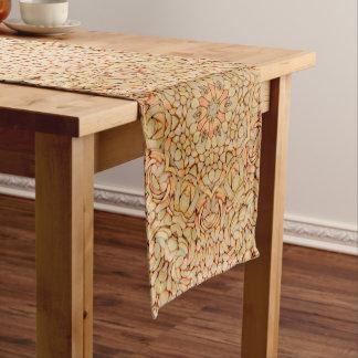 Kiesel-Kaleidoskop-Tabellen-Läufer, 3 Größen Kurzer Tischläufer