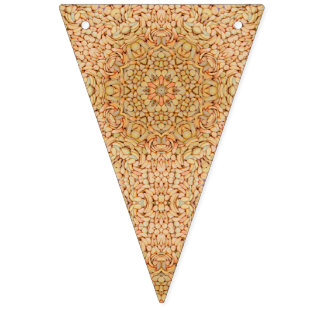 Kiesel kopieren Vintage Kaleidoskop-Party-Flagge Wimpelketten