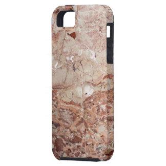 Kiesel-Marmorende Burgunders hochrotes Stoney iPhone 5 Schutzhülle