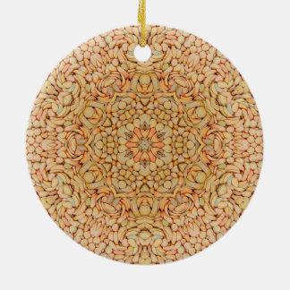 Kiesel-Muster verziert 6 Formen Keramik Ornament