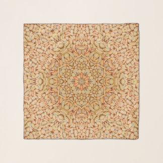 Kiesel-Vintager Kaleidoskopchiffon-Schal Schal
