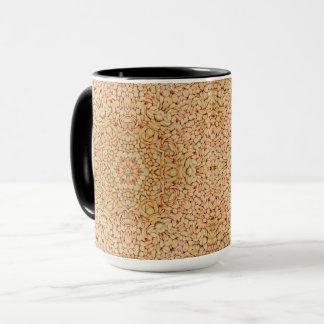 Kiesel-Vintages Kaleidoskop-kombinierte Tasse