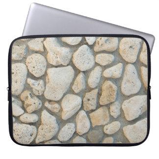 Kieselmuster Laptopschutzhülle