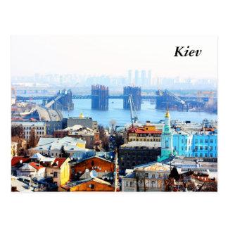 Kiew-Geschäft und industrielle Stadt, Kiew Postkarten