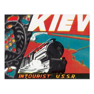 Kiew Intourist UDSSR Postkarte