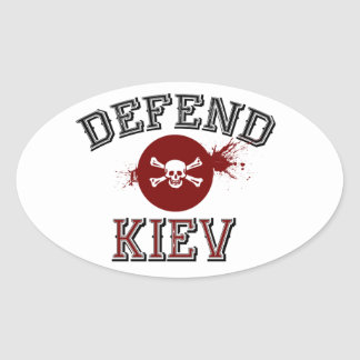 Kiew-Protest-Aufkleber
