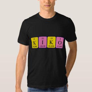 Kiko Namen-Shirt periodischer Tabelle Hemd