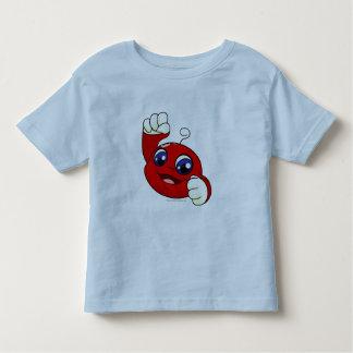 Kiko Rot Kleinkinder T-shirt