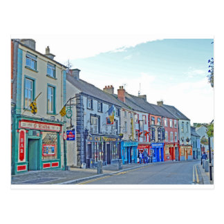 Kilkenny-Straße Tom Wurl Postkarte