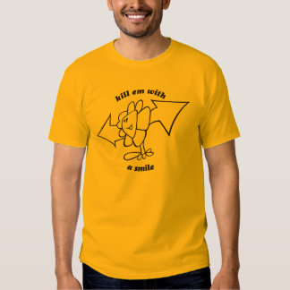 Kill em with a smile (Basic T-Shirt) T Shirts